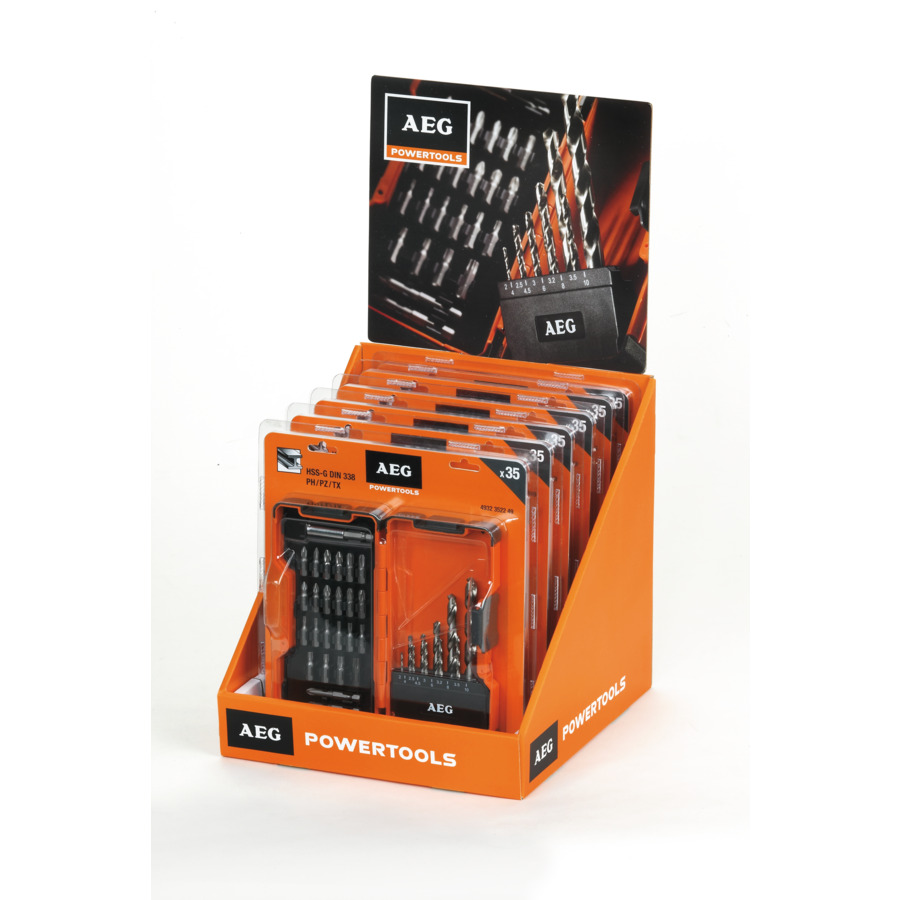 Power Set HSS-G (DIN 338) Metal Drill Bits & Screwdriving Bits