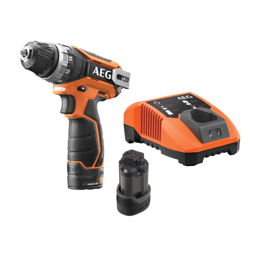 AEG - 12V Ultra Compact 2-Speed Drill/Driver | BS 12C2